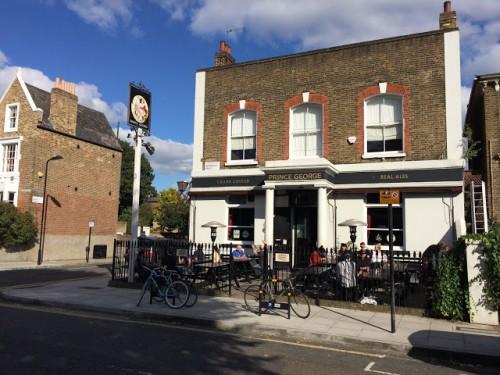 London Prince George pub