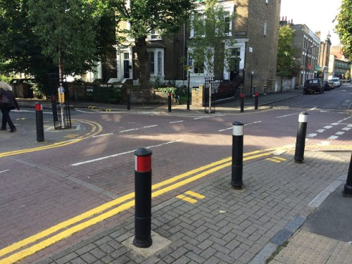 raised table intersection London