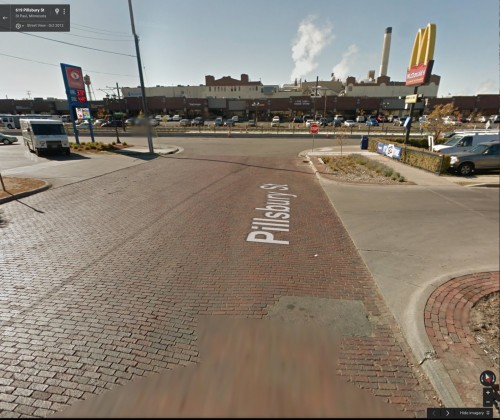 Pillsbury Street, Saint Paul (via Google Earth)