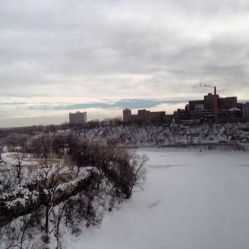 Mississippi River from Washington Avenue Bridge