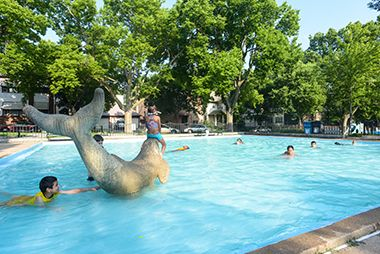 Bryant wading pool. From City of Minneapolis.