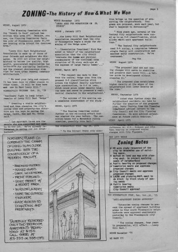 Wedge Newspaper celebrates victories over developers in early 1970s