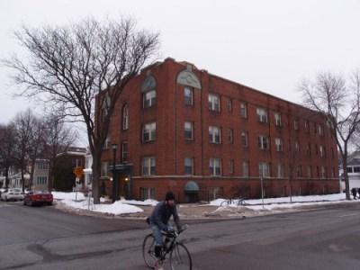 non-conforming apartment building