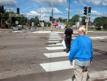 hiawatha crosswalk