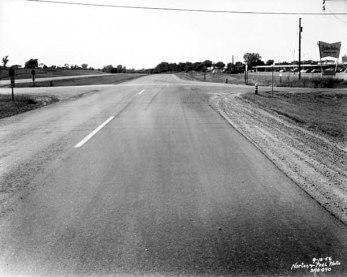 Olson highway in Golden Valley in the early 1950s