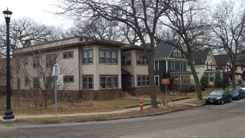 2-6 unit buildings co-exist well with single family homes.