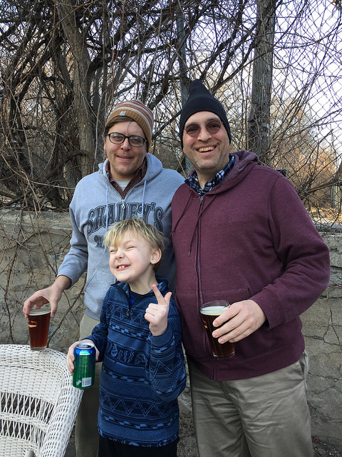 Bill, Rich, and Noah