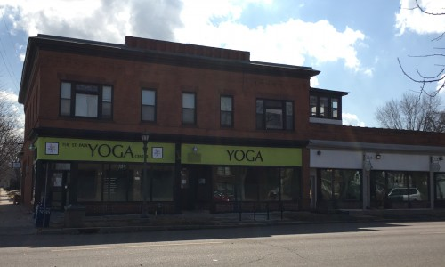 1162 Selby, Saint Paul Yoga Center. I'd like to see more buildings like this on Selby west of Lexington, perhaps with another story of apartments.