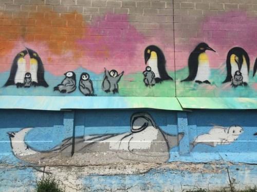 Midtown Greenway mural