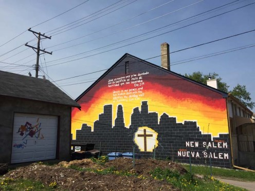 New Salem Church mural