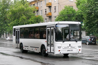 Example of a small urban bus.
