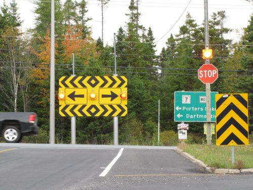 Nova Scotia Expressway Ending