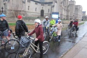 Bike to Work day in Minneapolis, 2014.