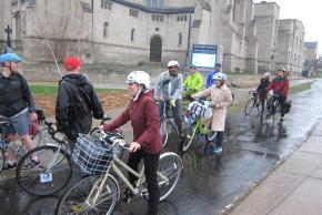 Bike to Work day in Minneapolis, 2014.