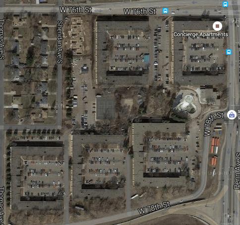 Asphalt heaven (Google Maps)