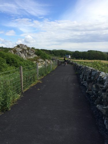 Brand new multi-use path connecting whisky breweries on Islay