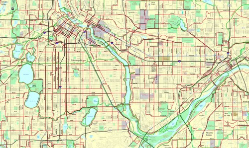 Bike Everywhere TC Bike Map