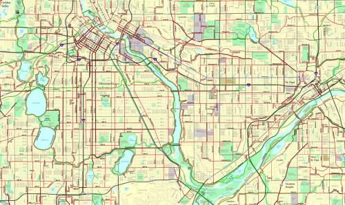 Bike Everywhere TC Bike Map