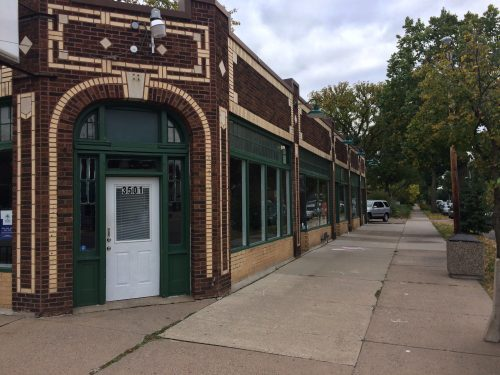 Classic Streetcar Commercial Building in Minneapolis - Good Sense of Place