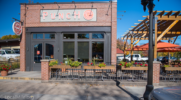 Punch Pizza on Grand Ave. The windows don't open but still provide a critical connection between inside and out.