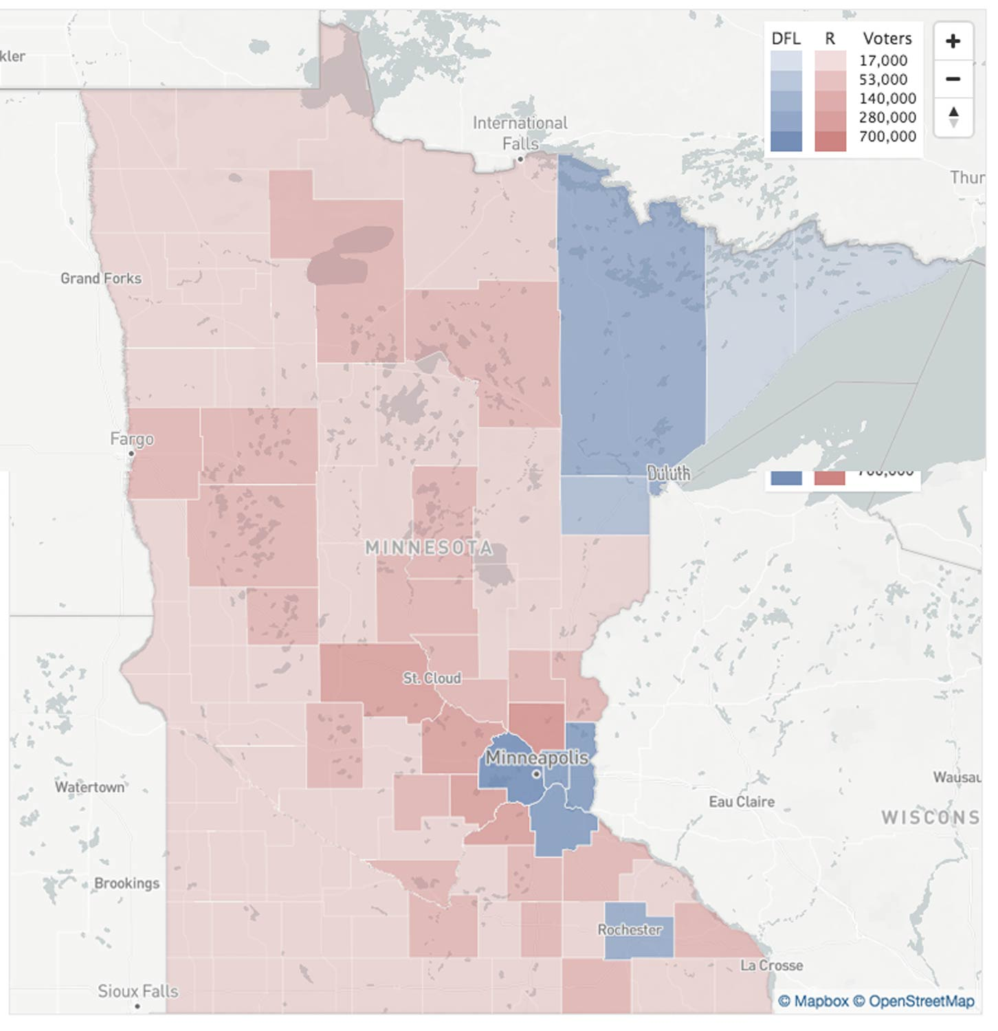 Map Monday Minnesota 2016 Presidential Election Results