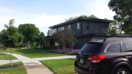 A Recently Rebuilt Flat-Roofed Mid-Century Modern at 5701 Oliver Avenue South