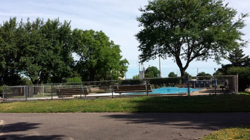 Pool at Bottineau Field Park