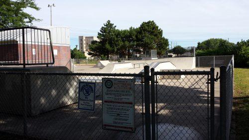 Skatepark at Bottineau Field Park