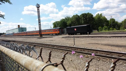 Milwaukee Road and North Pole Express Cars