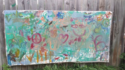 Canvas on 41st Street East Near Chicago Avenue South