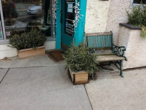 What an Adorable Little Bench!