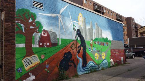 """""""Children for the Future,"""" 814 W 36th St, Aldrich Arts Collaborative (2011)"""