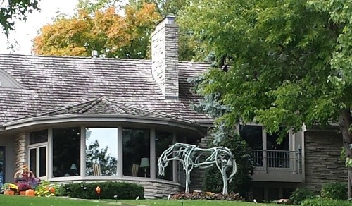 Horse Sculpture, 2728 W Lake of the Isles Pkwy