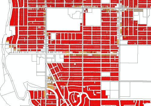 Ramsey County data showing SFHs vs Multi-family
