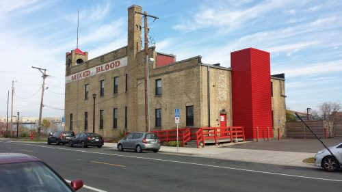 Mixed Blood Theatre in the Former Fire Station 5 (1887), 1501 4th St. S.