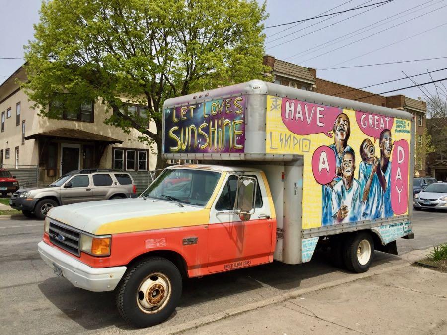World Effort Foundation truck