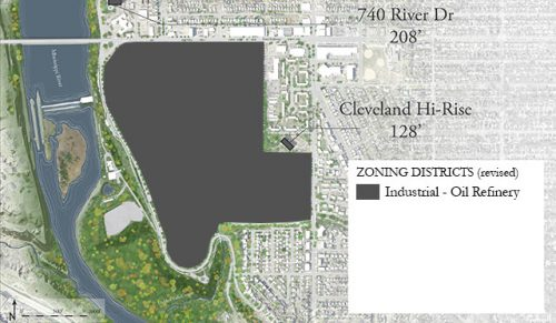 April Fool's Ford Site Plan