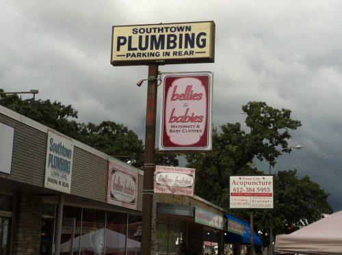 Small businesses along Penn Avenue