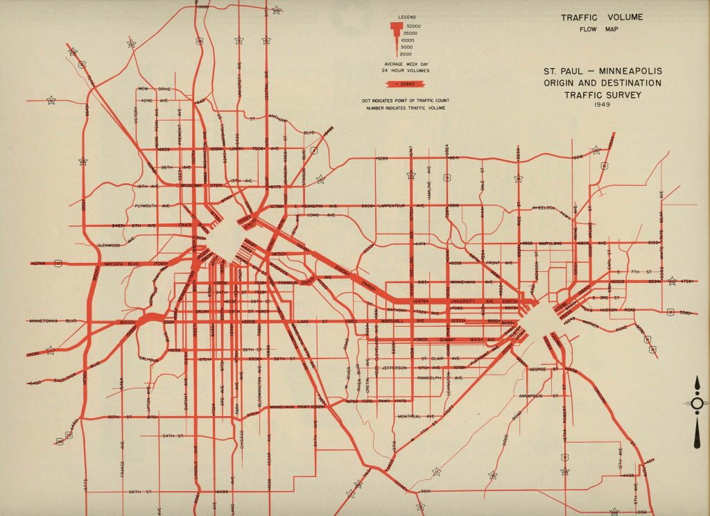 St Paul Traffic Map.Re Amazing And A Nice