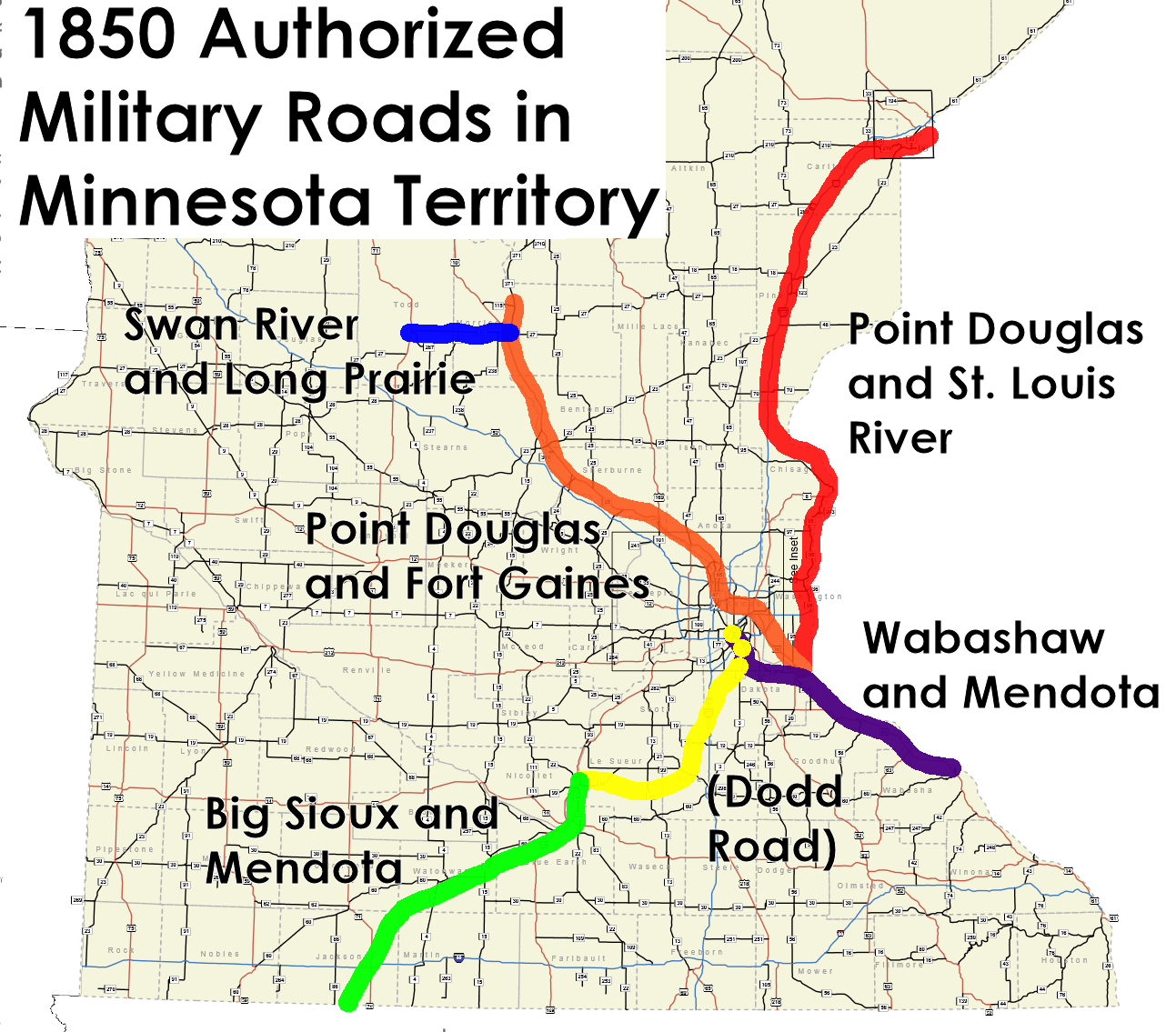 A History of Minnesota's Highways Part One | streets.mn on