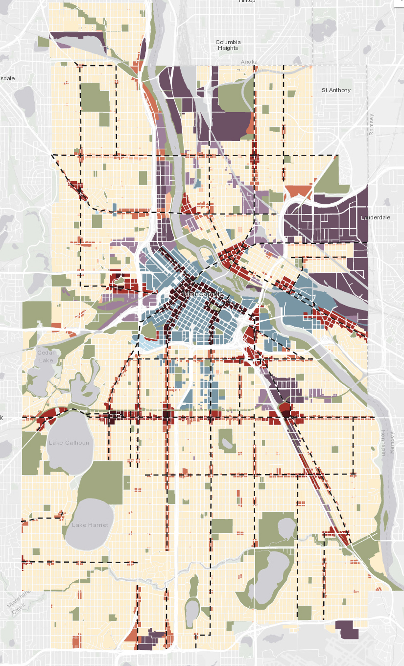 Map Monday: Future Land Use Draft Maps for Minneapolis and Saint ...
