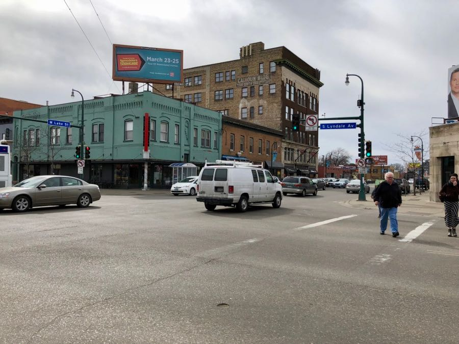 Intersection of Lyndale Avenue South and Lake Street