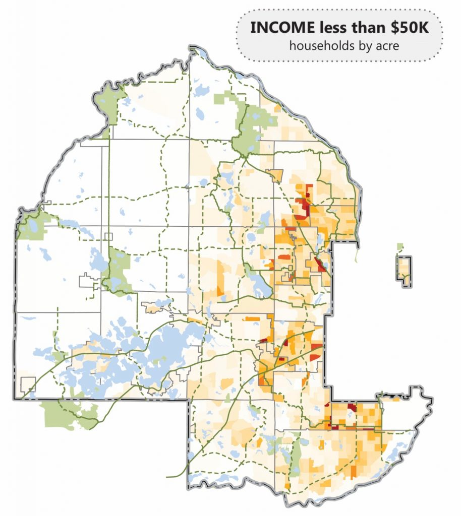 Rest Of Hennepin, Income Under 50k