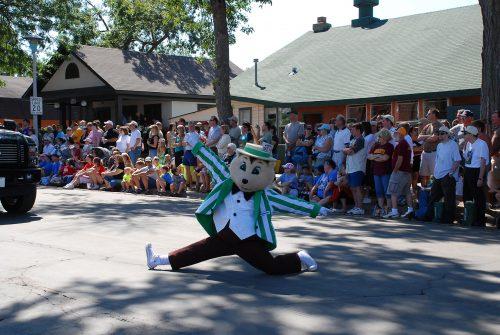 Gophers Fairchild, the State Fair mascot