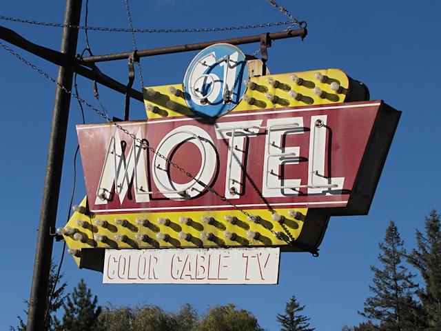 61 Motel Sign