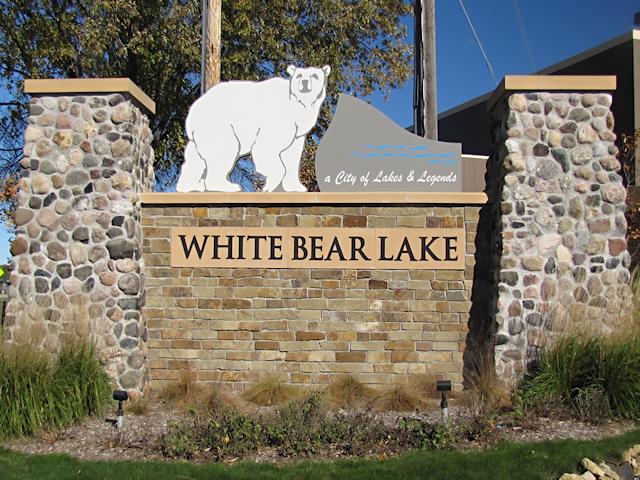 White Bear Lake Sign