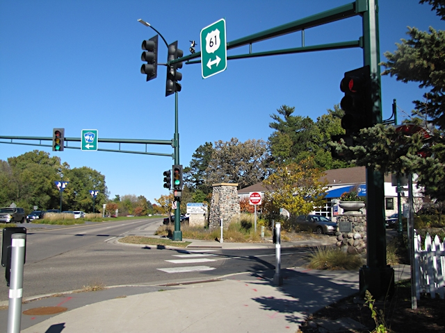 Lake Ave intersection