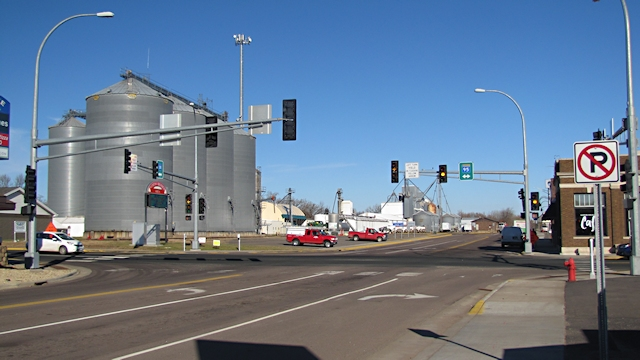 North Branch, Old Highway 61 and Main Street, Today