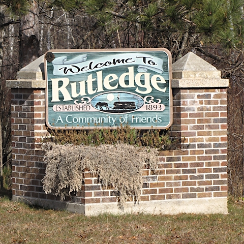 Rutledge Welcome Sign