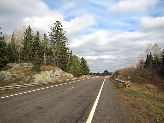 Rock Cut along old Highway 61